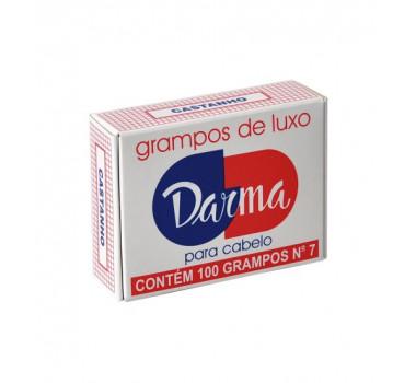 GRAMPO 07 CAIXA C/100 CASTANHO 047 DARMA