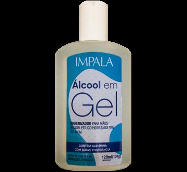 ALCOOL EM GEL 120ML 800 IMPALA
