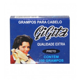 GRAMPO N7 CAIXA C/100 PRETO 908 GIGITA